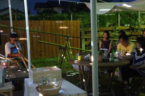 ~竹細工と流し素麺の夕べ~開催しました♪_b0213031_0184746.jpg