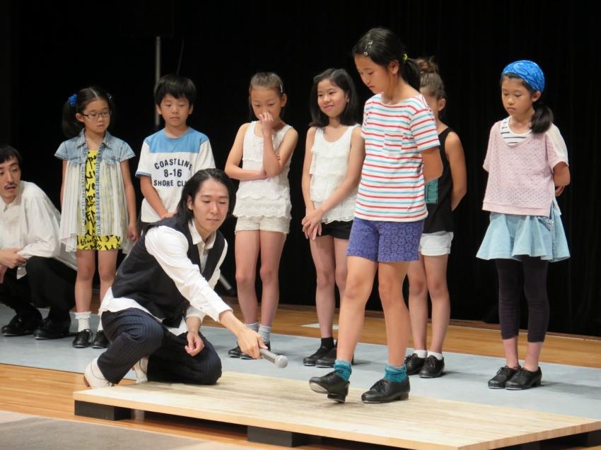 """""""TAP +fantastic"""" タップダンスワークショッププログラム@目黒パーシモンホール レポート!_f0137346_0194417.jpg"""