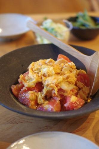 トマトと卵の炒め物_c0110869_1323413.jpg