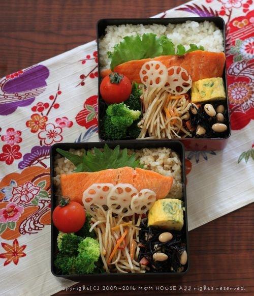 月曜鮭弁と作りおき ✿ チキンのアドボ♪_c0139375_10381450.jpg