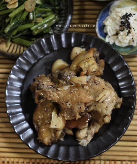 月曜鮭弁と作りおき ✿ チキンのアドボ♪_c0139375_1039526.jpg
