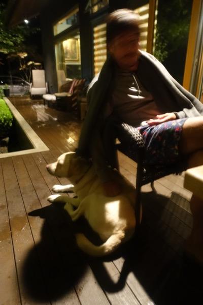 雷雨の中でもドライな私たち_d0133485_1617271.jpg
