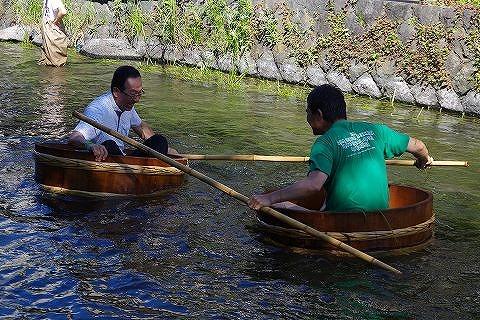 30回、記念の年の「田宿川たらい流し川祭り」_f0141310_7374166.jpg