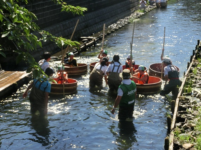 30回、記念の年の「田宿川たらい流し川祭り」_f0141310_738181.jpg