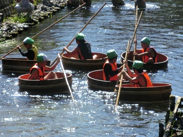 30回、記念の年の「田宿川たらい流し川祭り」_f0141310_7383117.jpg
