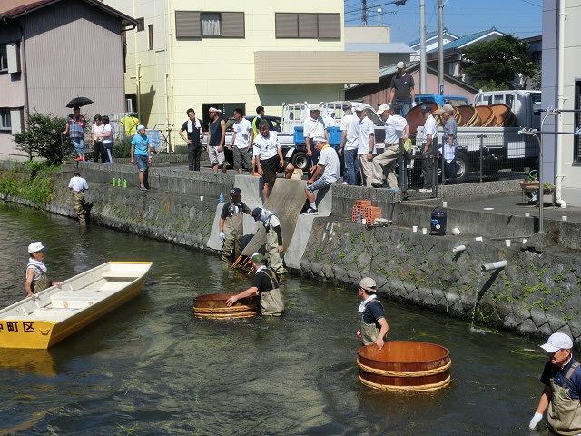 30回、記念の年の「田宿川たらい流し川祭り」_f0141310_7401541.jpg