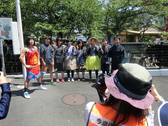 30回、記念の年の「田宿川たらい流し川祭り」_f0141310_7404934.jpg