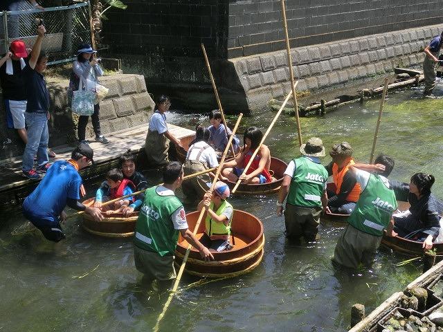 30回、記念の年の「田宿川たらい流し川祭り」_f0141310_741438.jpg