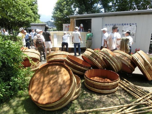 30回、記念の年の「田宿川たらい流し川祭り」_f0141310_7415353.jpg