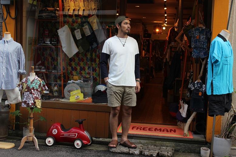 "Jackman 秋物第1段 \""Beimen Baseball T-Shirts\"" ご紹介_f0191324_9321099.jpg"