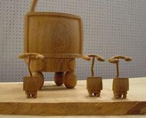 本日より、村山正志 木彫展 始まります _c0218903_202855.jpg