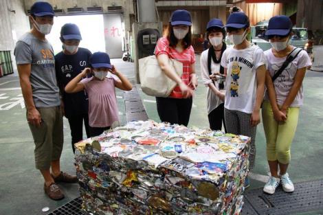 リサイクル施設ツアー もうちょっと写真アップしまーす_a0259130_2235966.jpg