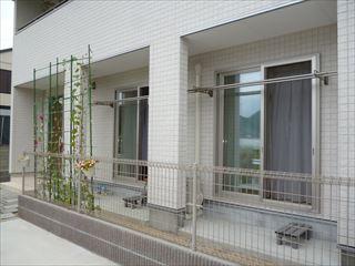 松山市 M様邸 スタイルシェード取付工事_a0167735_15114912.jpg