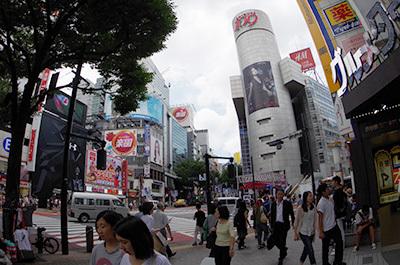 8月3日(水)今日の渋谷109前交差点_b0056983_18035134.jpg