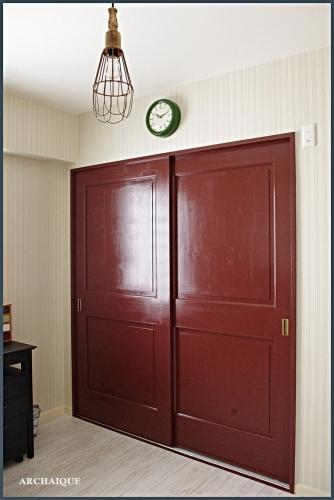 ** 今までの施工例 ドア シアワセノトビラアケテミマセンカ **_c0207890_15092148.jpg