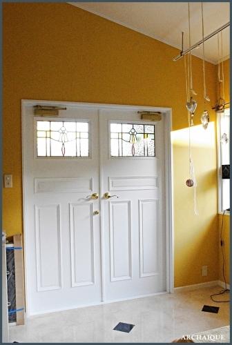 ** 今までの施工例 ドア シアワセノトビラアケテミマセンカ **_c0207890_15154214.jpg