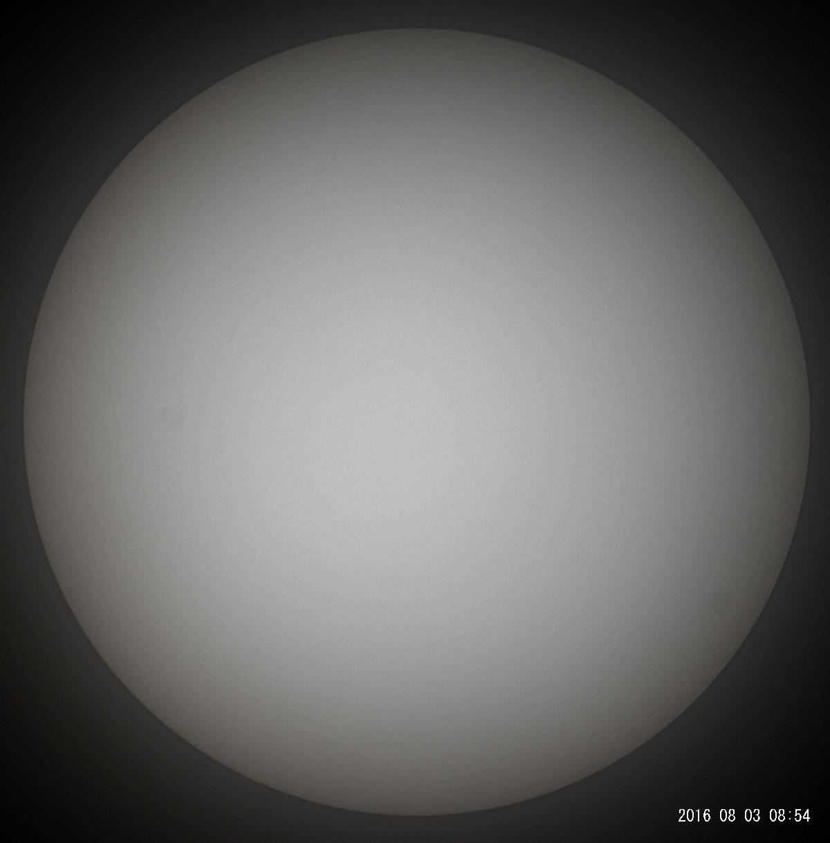 8月3日の太陽_e0174091_10543263.jpg