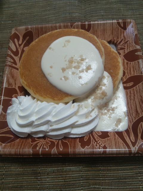 ふんわりパンケーキ~ココナッツソース添え~_f0076001_2204727.jpg