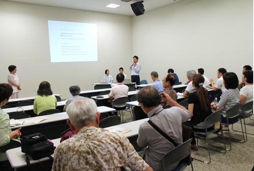もりや市民大学_オープンコース「Thursday night course in MORIYA Part3」トークセッション_a0216706_1622751.jpg