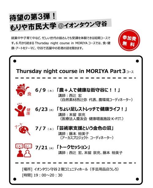 もりや市民大学_オープンコース「Thursday night course in MORIYA Part3」トークセッション_a0216706_17465756.jpg