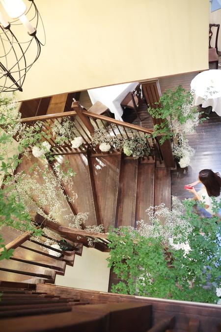 夏の装花 ザ・ハウス白金様へ レセプションパーティに_a0042928_11165917.jpg