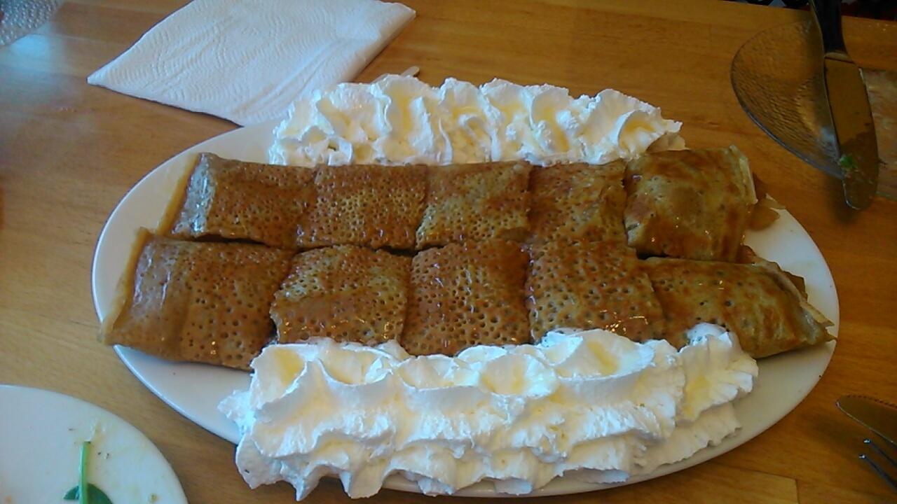 サンタクララのクレープ屋さん@Delicious Crepes Bistro : Santa Clara のんびり日記
