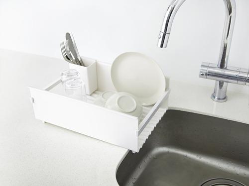 食器が乾きやすい通気性と水切れのよさ。 洗いやすいフォルムで、いつも清潔。_b0125570_10505513.jpg