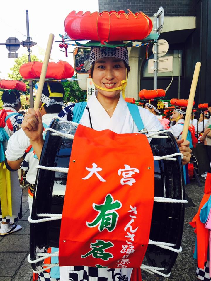 実は太鼓でパレードデビューだった(^-^)〜さんさ太鼓の勲章マメ♡_b0199244_7322961.jpg