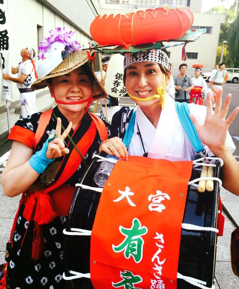 実は太鼓でパレードデビューだった(^-^)〜さんさ太鼓の勲章マメ♡_b0199244_7331716.jpg