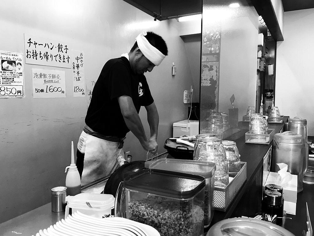 和田町「一文字結」で特製塩ラーメン_e0220163_19141859.jpg