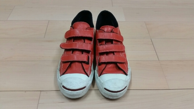 90s Converse Jackpurcell Leather V-3_f0329479_19303448.jpg