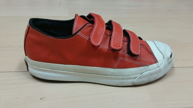 90s Converse Jackpurcell Leather V-3_f0329479_19321908.jpg