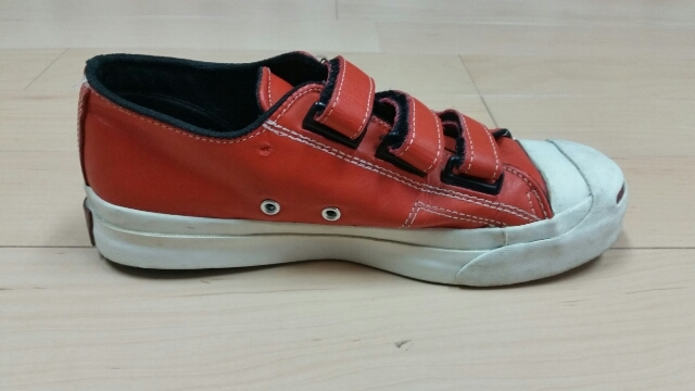 90s Converse Jackpurcell Leather V-3_f0329479_19323614.jpg