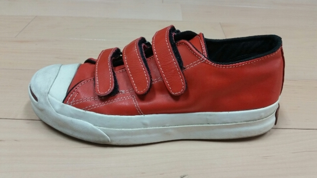 90s Converse Jackpurcell Leather V-3_f0329479_19331307.jpg