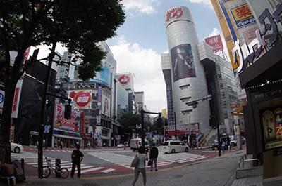 8月5日(金)今日の渋谷109前交差点_b0056983_14194438.jpg