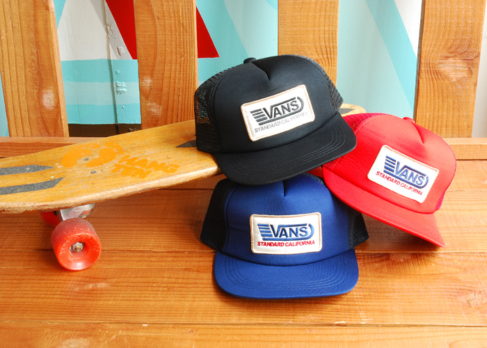 【DELIVERY】 STANDARD CALIFORNIA - VANS×SD  T , Long Sleeve T , Drizzler Jacket , Mesh cap_a0076701_13121450.jpg