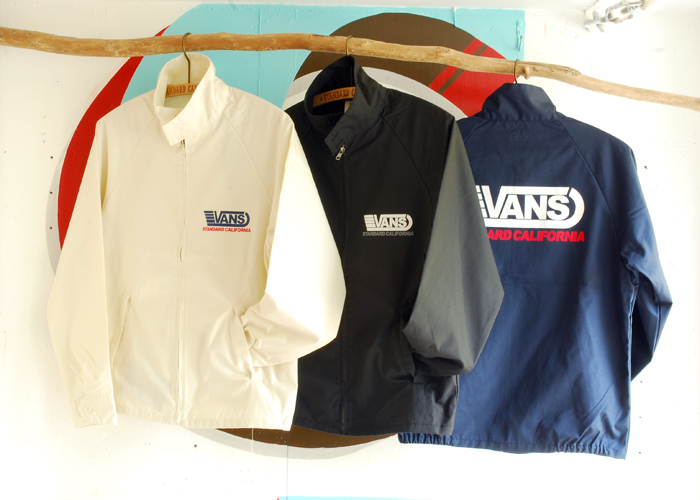 【DELIVERY】 STANDARD CALIFORNIA - VANS×SD  T , Long Sleeve T , Drizzler Jacket , Mesh cap_a0076701_13122367.jpg