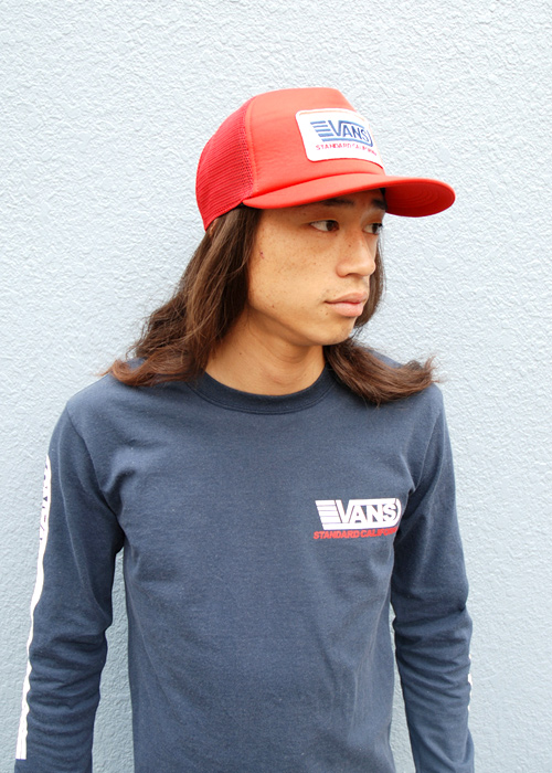 【DELIVERY】 STANDARD CALIFORNIA - VANS×SD  T , Long Sleeve T , Drizzler Jacket , Mesh cap_a0076701_13122442.jpg