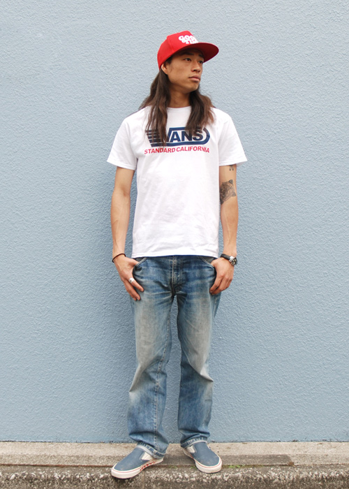【DELIVERY】 STANDARD CALIFORNIA - VANS×SD  T , Long Sleeve T , Drizzler Jacket , Mesh cap_a0076701_13122480.jpg