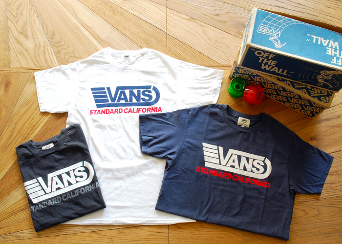 【DELIVERY】 STANDARD CALIFORNIA - VANS×SD  T , Long Sleeve T , Drizzler Jacket , Mesh cap_a0076701_13122660.jpg