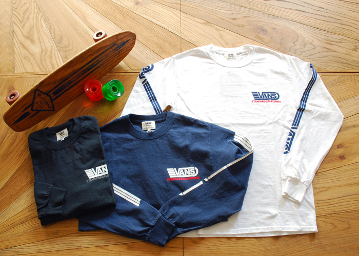 【DELIVERY】 STANDARD CALIFORNIA - VANS×SD  T , Long Sleeve T , Drizzler Jacket , Mesh cap_a0076701_13122736.jpg