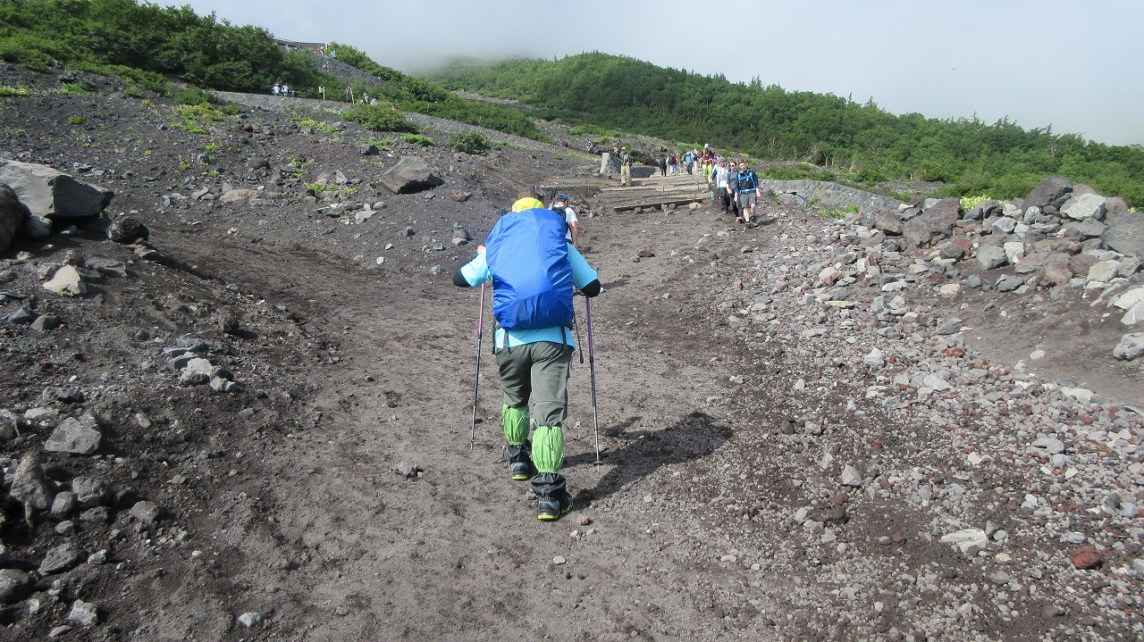 還暦富士登山  富士山ホテルに宿泊先変更_b0163804_2095582.jpg