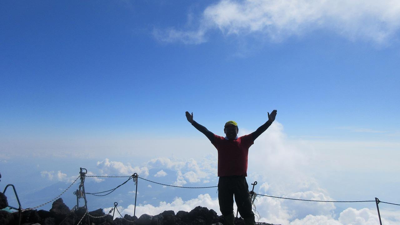 還暦富士登山山頂_b0163804_21103789.jpg
