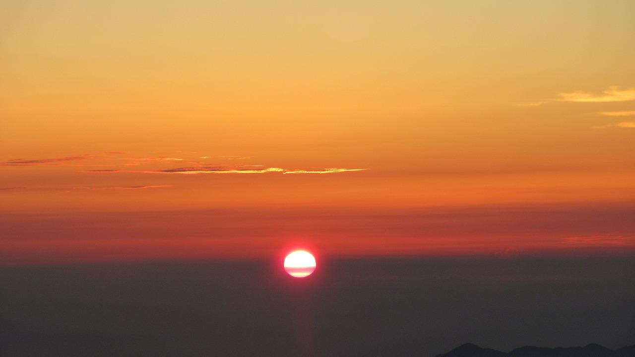 還暦富士登山 ご来光_b0163804_983163.jpg