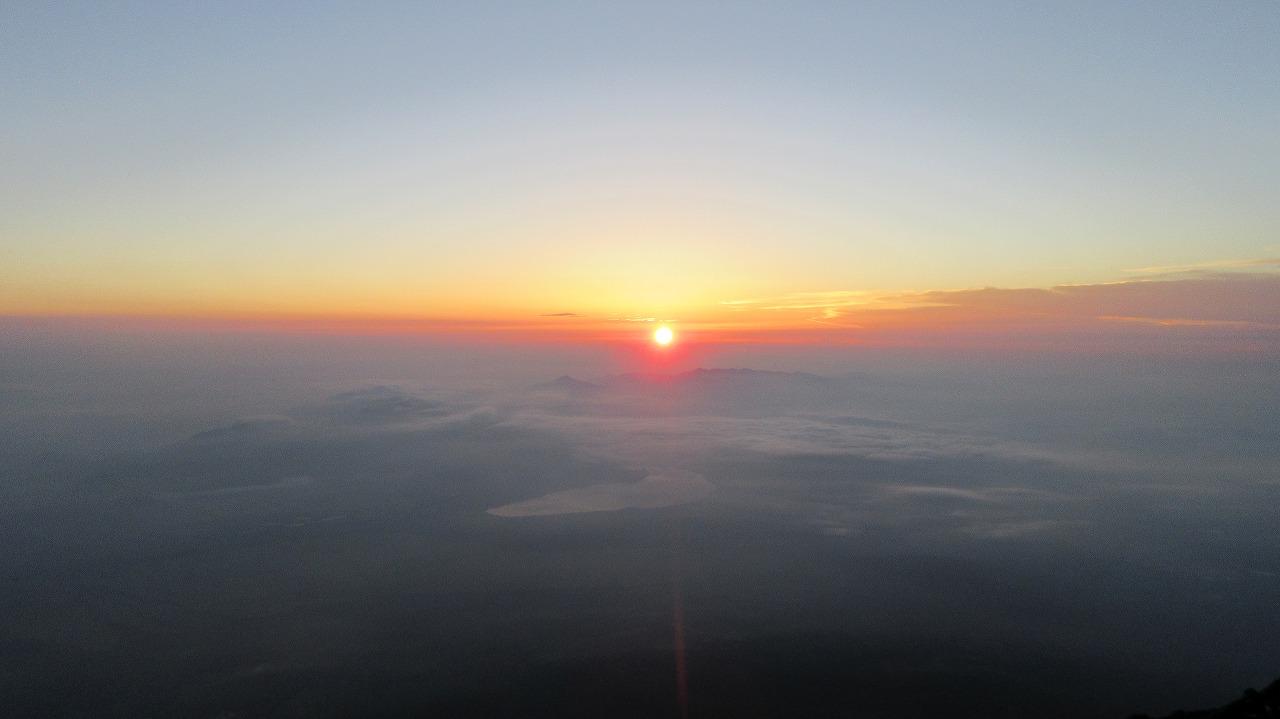 還暦富士登山 ご来光_b0163804_992572.jpg