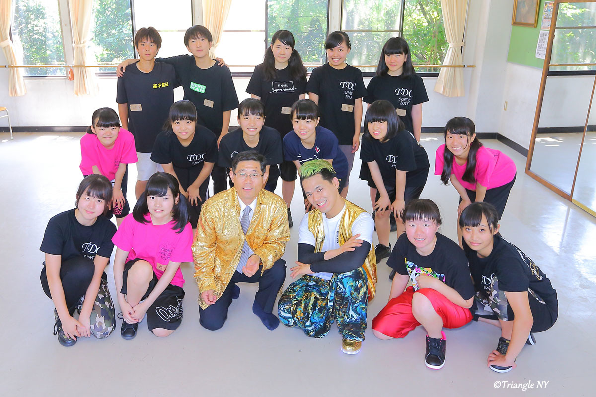 Toshiダンス講演会 at 杜若高等学校_a0274805_01162766.jpg