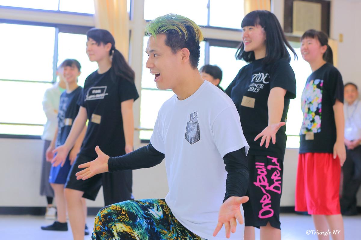 Toshiダンス講演会 at 杜若高等学校_a0274805_01165768.jpg