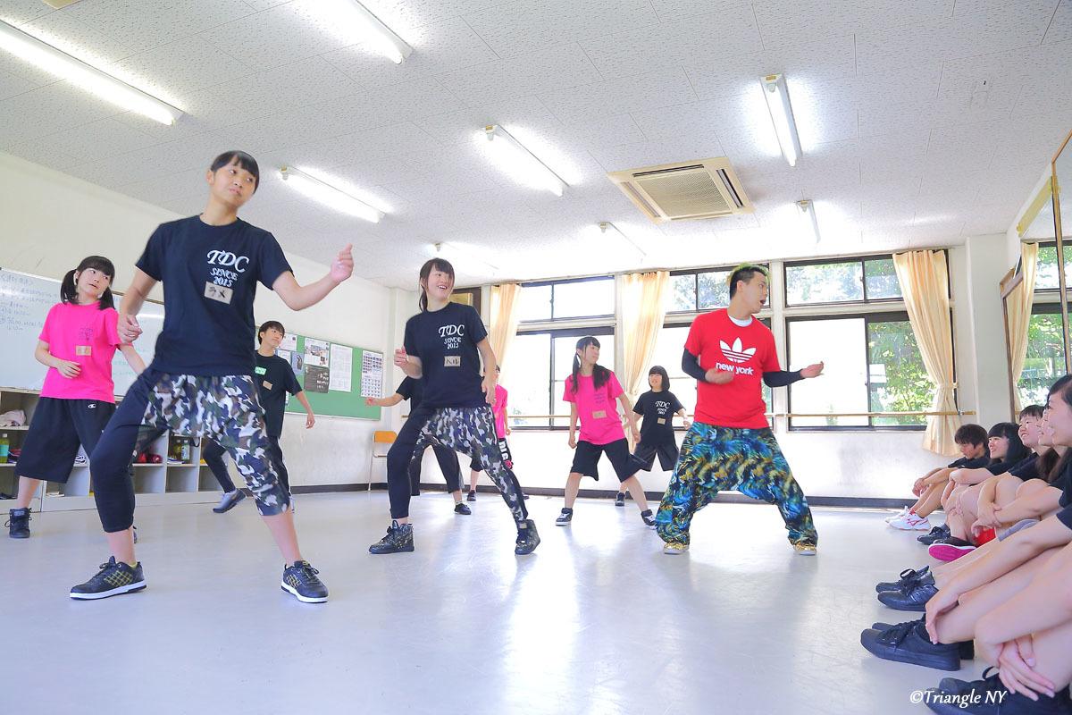 Toshiダンス講演会 at 杜若高等学校_a0274805_01170539.jpg
