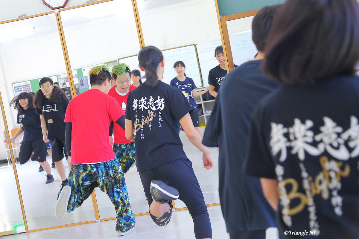 Toshiダンス講演会 at 杜若高等学校_a0274805_01171445.jpg