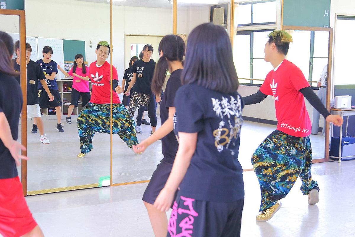 Toshiダンス講演会 at 杜若高等学校_a0274805_01172396.jpg